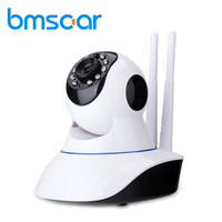 Bmsoar WIFI IP Camera IR Night Vision 720P HD P2P Network Wireless Pan Tilt Home Security