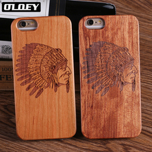 OLOEY Wood Case For Samsung Galaxy S9 Plus S7 S8 Edge 100% Natural Carving iPhone 7 6 6S 5 XS Max  Cover