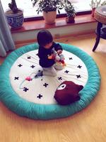 ELEVEN Baby Velvet Super thick 5CM children game mat around thickened 15CM baby crawling mat baby Toddler Mat