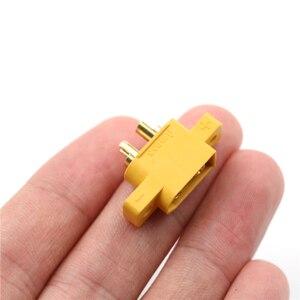 Image 5 - Pieza de repuesto DIY para multicóptero, placa fija, XT60E M amarillo, conector macho XT60 montable para modelos RC