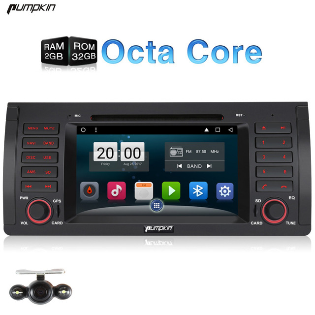 Android 6 0 Car GPS Navigation DVD Audio Player Multimedia FM For BMW E53 M5 E39