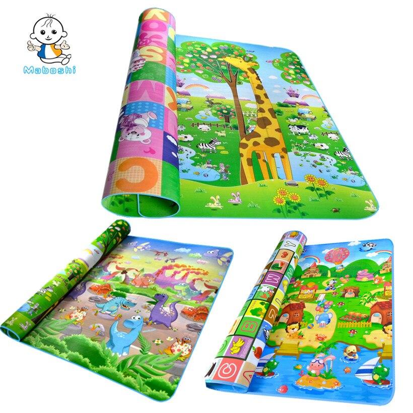 Autorizado auténtico Maboshi 6 diseños Baby Play Mat Beach niño Mat Picnic alfombra arrastre del bebé Mat