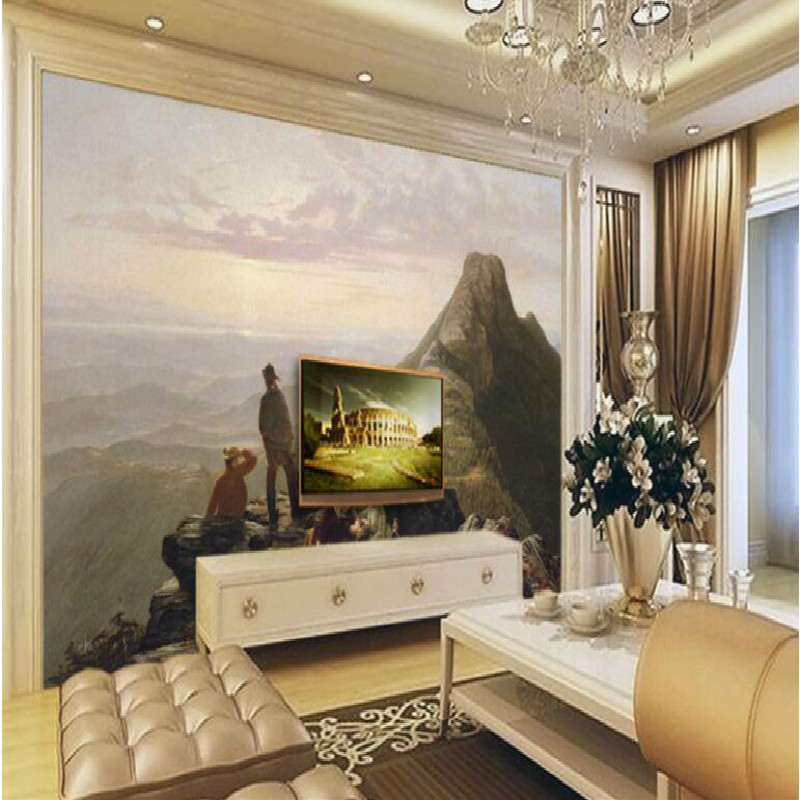 paintings Mansfield Hill was expelled aristocratic 3d mural wallpapers for living room bedroom wallpaper painting  wallpaper
