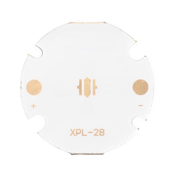 Jiguoor 28mm Copper MCPCB XPL XPE XPG Direct Thermal Path Circuit Board