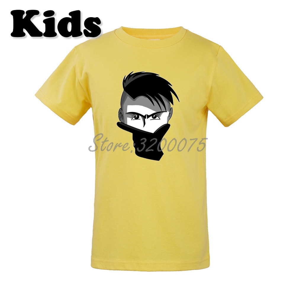 new arrival 5f96b adb7c Kids La Joya Paulo Dybala 10 mask gestures T-shirt Clothes Youth boys girl  tshirt tee W19033003