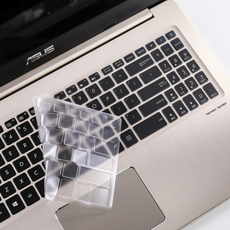 Free Shipping Ultra-thin invisible Keyboard cover film For ASUS 15.6 inches NX580 flight fortress notebook
