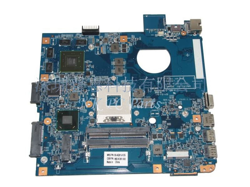 MBRC901002 MB.RC901.002 48.4IQ01.041 Main board For Acer 4750 Laptop motherboard HM65 DDR3 with Graphics card 100% tested