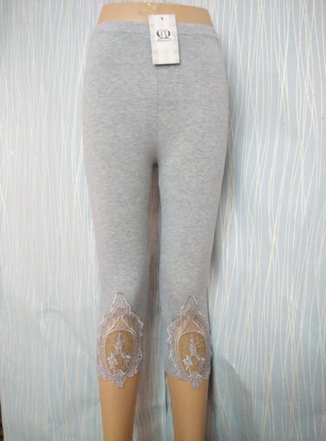 S- 7XL plus size leggings women leggings lace decoration white leggings size 7XL 6XL 5xl 4xl 3xl xxl xl L M S