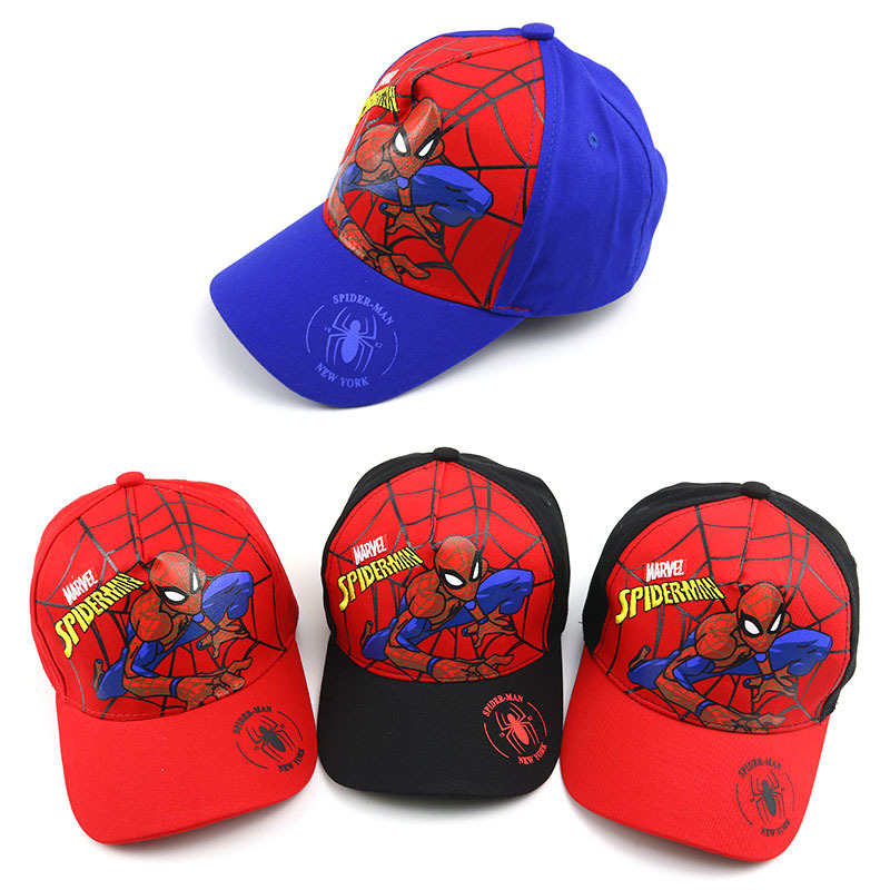 2019 New 3-8Y Cute Cartoon Kids Baby Baseball Cap Hats Children Baby Snapback Caps Summer Hip Hop Baby Boy Hats Adjustable