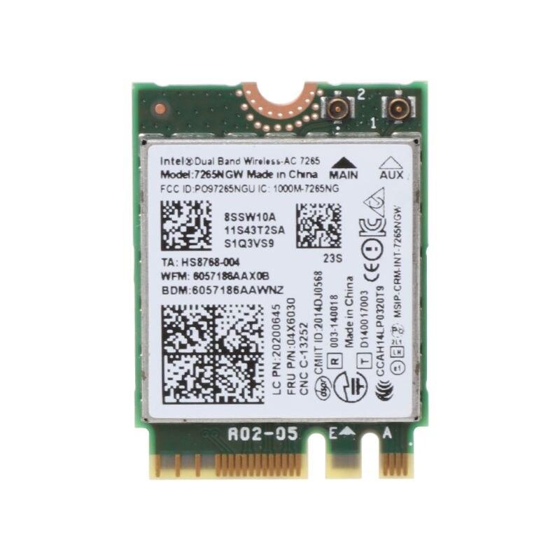 @1  Intel Wireless-AC 8260 IBM 00JT480 00JT382 00JT530 00JT532 Двухдиапазонная карта Wi-Fi Bluetooth Len ✔