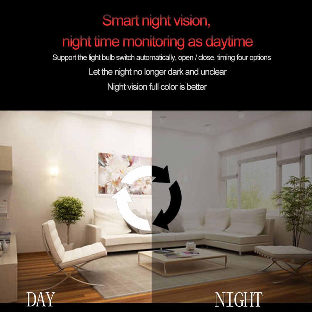 YuBeter 960p 1080P 360 Security wifi Camera Lamp Panoramic Bulb IP CCTV Video Surveillance Fisheye HD Night Vision Two Way Audio
