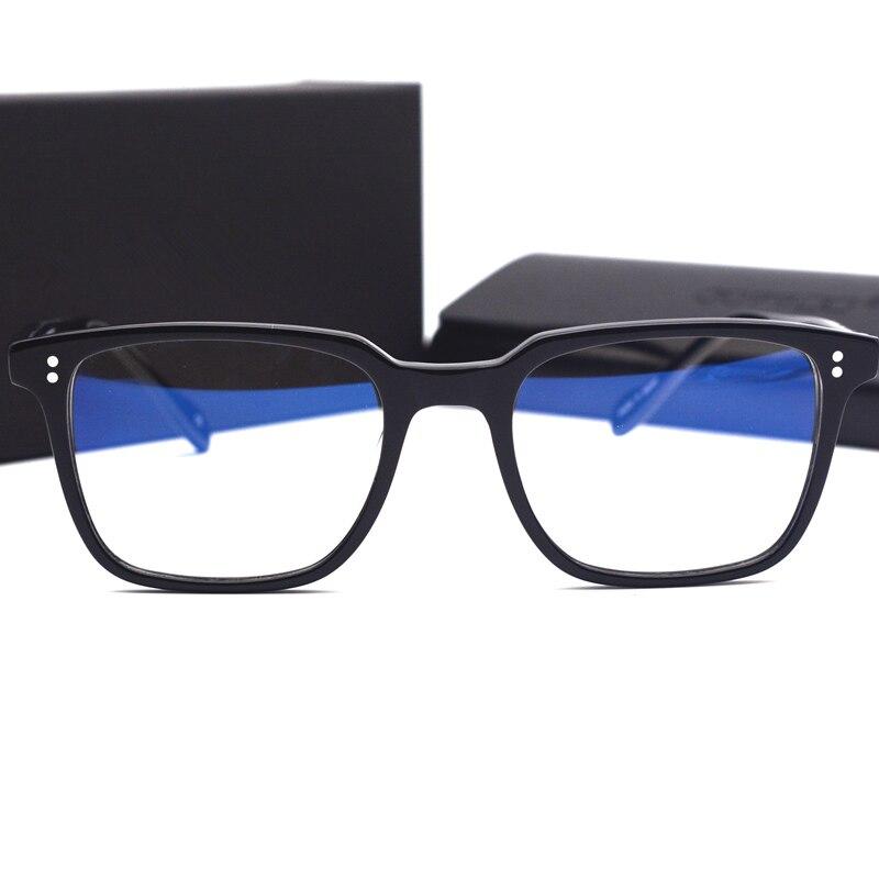 Retro Óculos de Armação de Acetato de óculos de Leitura Óptica de Vidro Homens Mulheres OV5031 NDG Enquadrar Oculos de grau Óculos De Grau