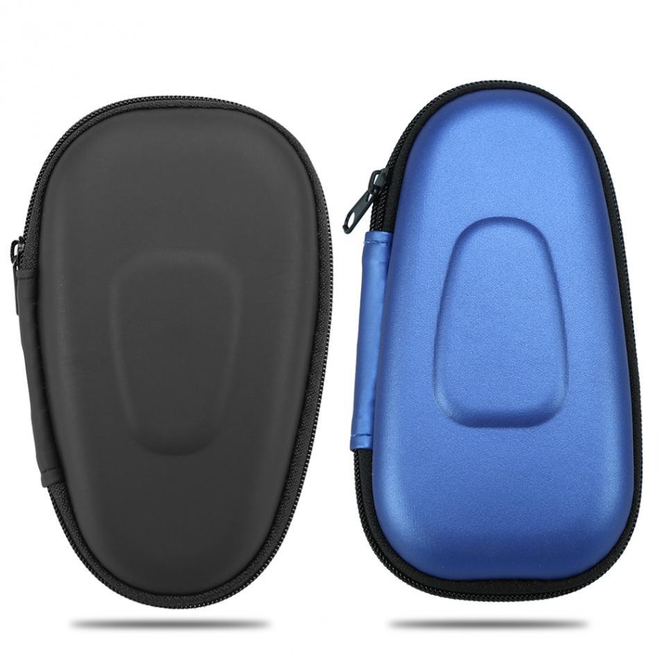Black/Blue Portable Travel Carrying Double Blade <font><b>Electric</b></font> <font><b>Shaver</b></font> Storage Box Case Hard EVA Carry Holder <font><b>Shaver</b></font> <font><b>Protector</b></font> Bag