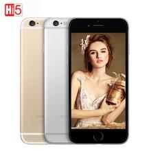 "Unlocked Apple iPhone 6 cell phones 4.7"" & 5.5"" Dual Core 16GB/32GB/64GB/128GB Rom 8MP Camera 4K video IOS iphone6 single sim"