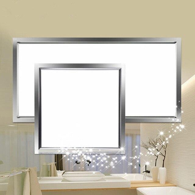 Geïntegreerde plafond led verlichting platte lichten aluminium ...