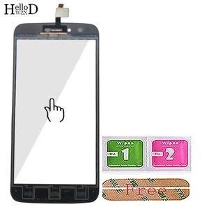 Image 5 - 5.5 ekran ekran dotykowy Panel dla Homtom HT50 HT 50 ekran dotykowy Digitizer przednia szybka z ekranem dotykowym czujnik narzędzie klej chusteczki