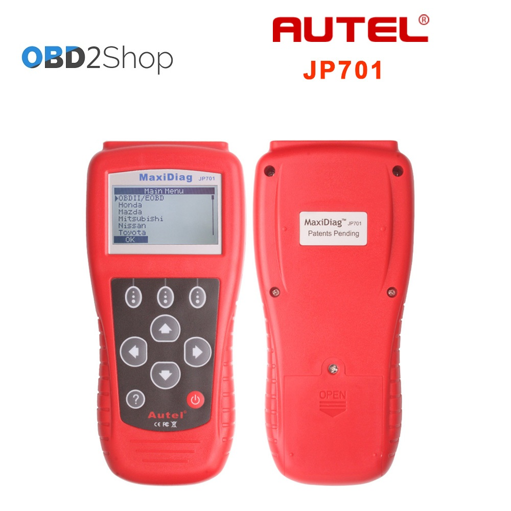 Autel MaxiScan JP701 Professional Aisa Vehicle Diagnostic tool JP 701 OBDII EOBD Code Reader scanner autel md801 pro 4 in 1 code scanner jp701 eu702 us703 fr704 maxidiag pro md 801 code reader