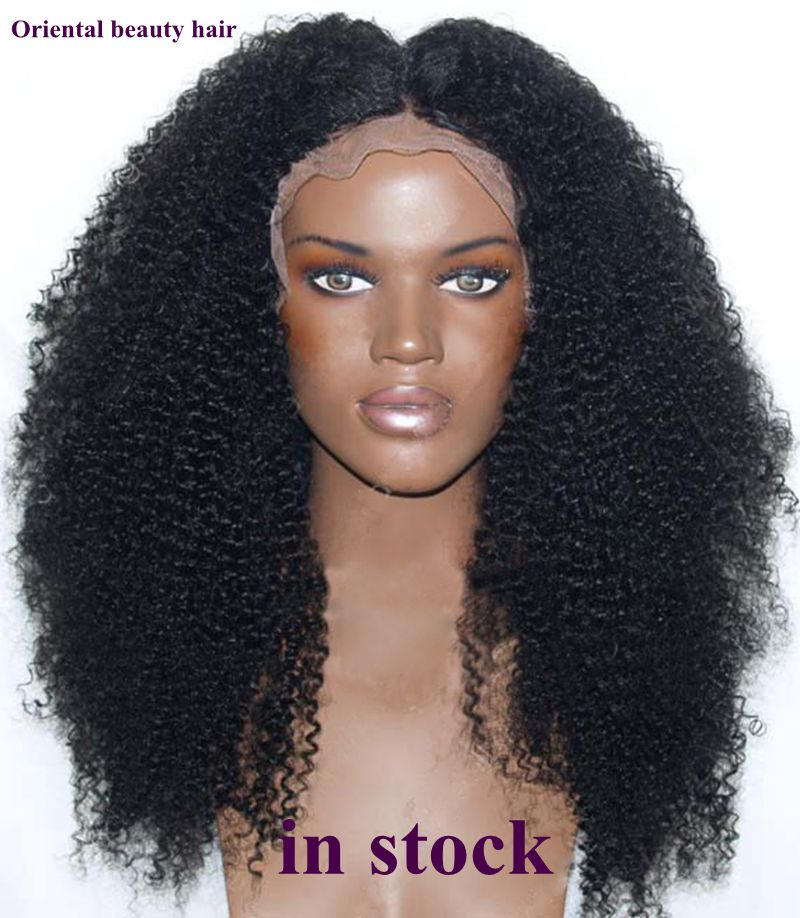 free shipping high quality heat resistant fiber afro curl kinky curly synthetic lace front wig. Black Bedroom Furniture Sets. Home Design Ideas