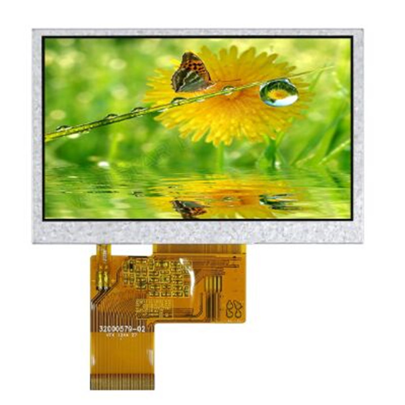 Winstar display WF43GTIAEDNN0 LCD  full color TFT module 480 x 272 RGB New and original