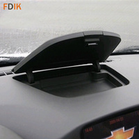 Güncellenmiş Gri ABS Dashboard Merkezi Konsol saklama kutusu Chevy Cruze 2009 2010 2011 2012