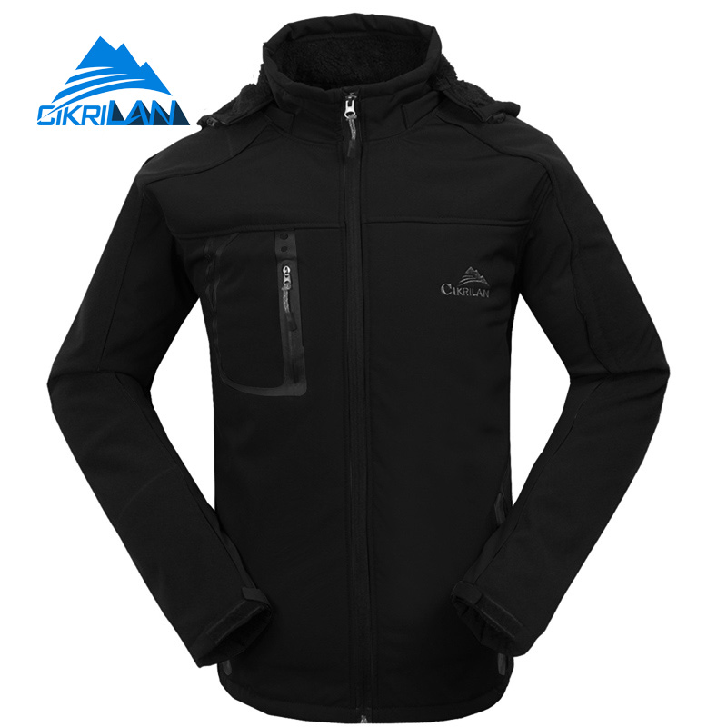 Cikrilan Windstopper Breathable Doudoune Homme font b Camping b font Hiking Chaqueta Hombre Fishing Softshell Jacket