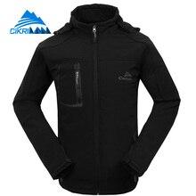 Cikrilan oddychające doudoune homme chaqueta hombre wędkarstwo camping piesze wycieczki softshell windstopper kurtka mężczyźni odkryty sport coat