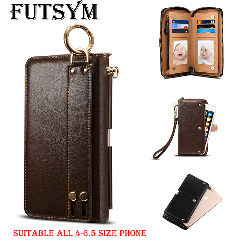 4-6.5 Inch Genuine Leather Pouch Case for Samsung S10 Case for IPhone X XR XS Max Case for Xiaomi Mi9 for Huawei P30 Pro Case4-6.5 Inch Genuine Leather Pouch Case for Samsung S10 Case for IPhone X XR XS Max Case for Xiaomi Mi9 for Huawei P30 Pro Case