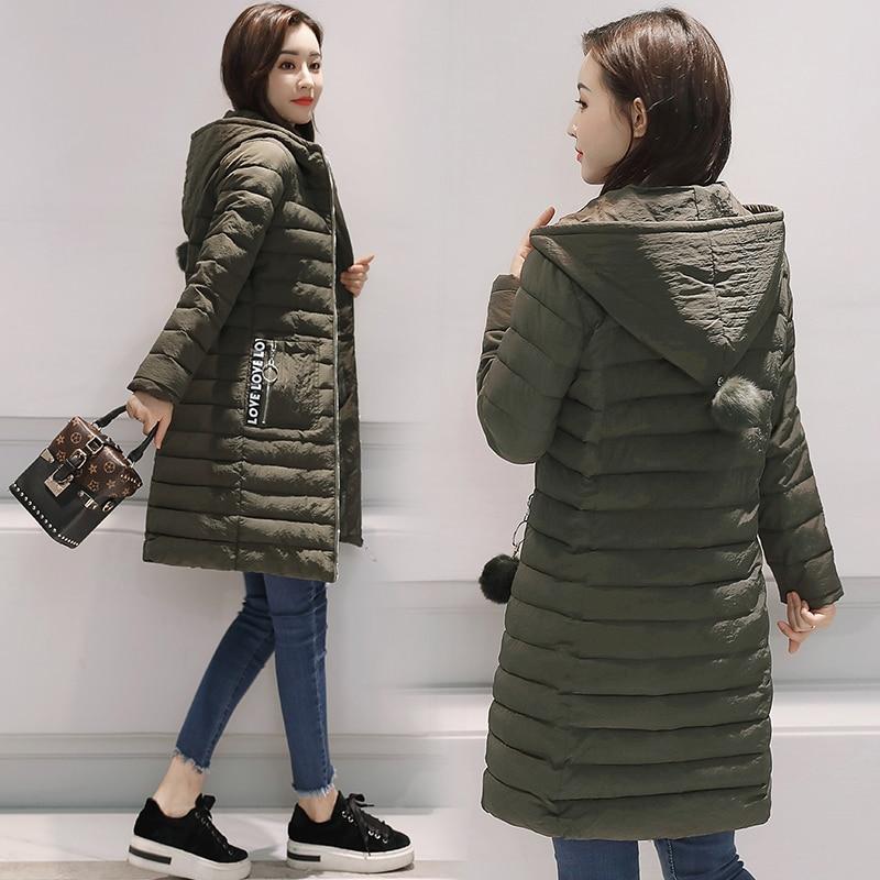 army Noir Manteau rouge Jaqueta Kuyomens Femmes Rembourré Parka Mujer 2017 Green Veste Coton gris Chaquetas D'hiver Manteaux Feminina Longue Inverno ZZHTzq