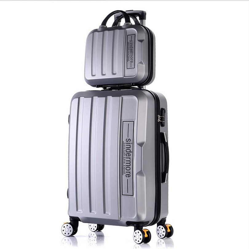Aliexpress.com : Buy Fashion 2PCS/SETS rolling luggage set 14 ...