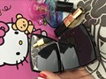 Luxo CC maquiagem Espelho Power Bank 5000 mAh Powerbank Externo portátil carregador de bateria Com pacote de Alta Qualidade