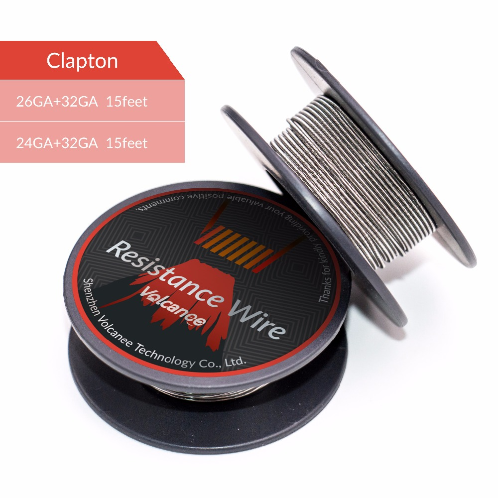 Volcanee 30feet/roll Ni80 Nichrome 80 Wire Heating Coil wires 26GA ...