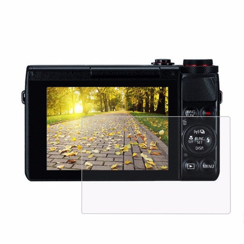PULUZ pour Canon G7X/G9X/G5X Caméra Film 2.5D Bord Incurvé 9 H Dureté de Surface En Verre Trempé Écran protecteur