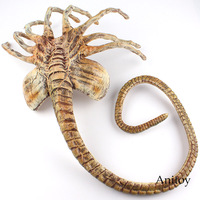 Alien Vs. Predator Alien Figure Facehugger Face Hugger Poseable Replica PVC Alien Doll Halloween Decoration Toy 120cm