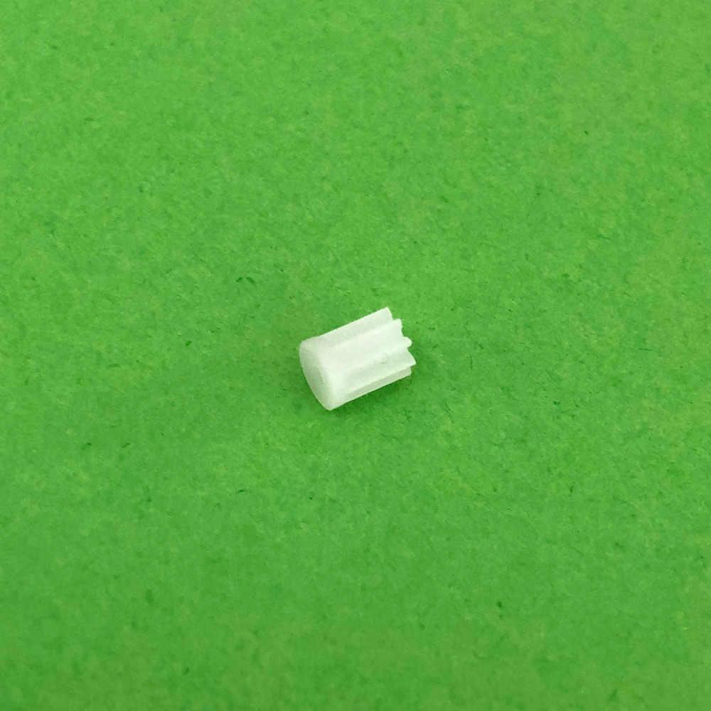 """10 יח'\חבילה K021Y 91A מיני פלסטיק סטי הילוך ציר מנוע 9 שן 1 מ""""מ קוטר חור DIY רובוט מסוק באיכות גבוהה על מכירה"""