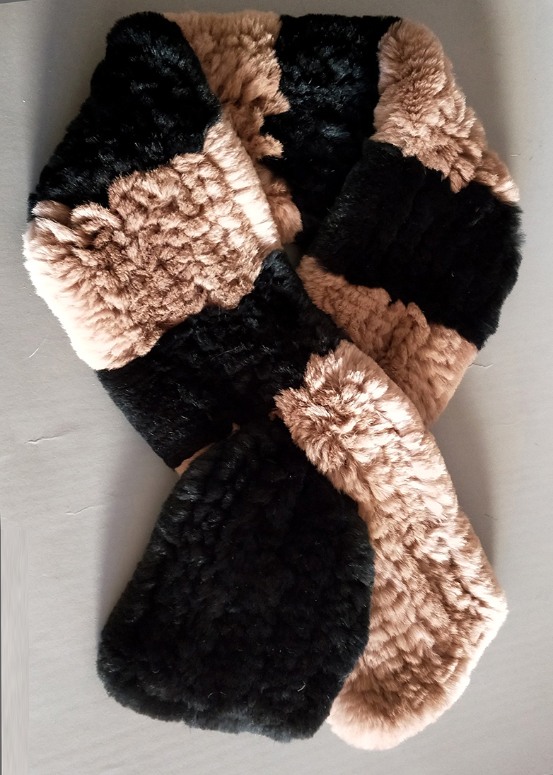 Natural Fur Scarf Women Winter Real Rex Rabbit fur Scarves cachecol bufandas New arrival muffler thermal Soft (10)