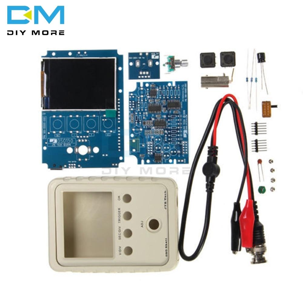 Orignal DSO150 Digital Oscilloscope DIY Kit With Housing Case Box Electronic DIY