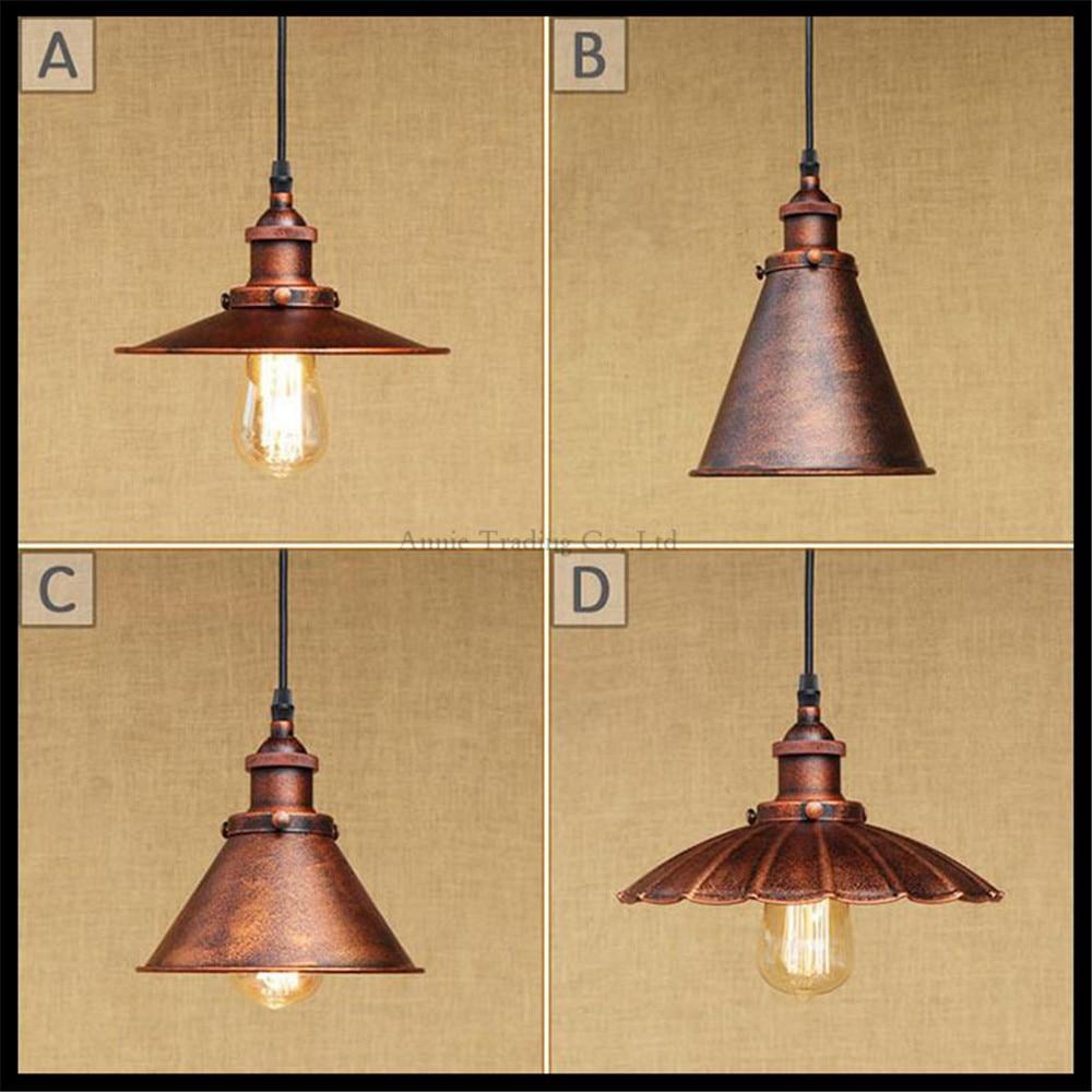 ФОТО Edison lamp Loft Vintage Industrial Retro Pendant Lamp Light E27 Holder lamparas colgantes suspension luminaire rustic lighting