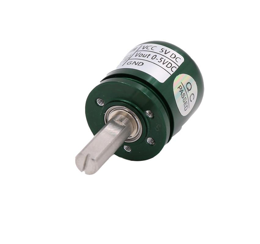 5pcs/lot Non-contact Hall Angle Sensor 0-360 Degree Angular displacement Torque Rotation Angular displacement Sensor L25