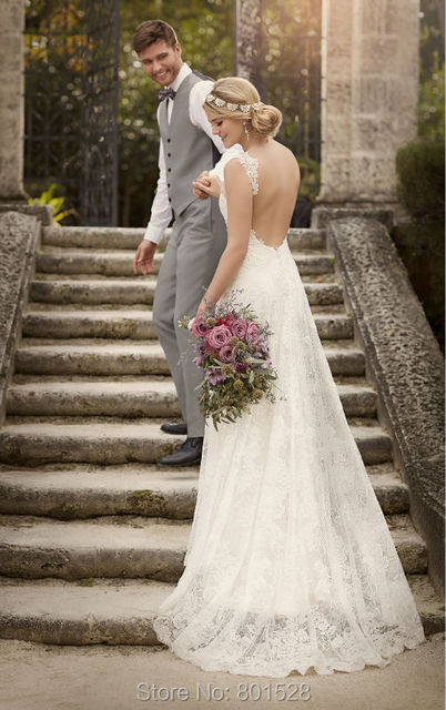 Aliexpress.com : Buy E Marry Fashionable Wedding Dress 2016 Lace ...