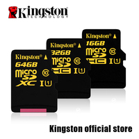 Kingston MicroSDHC MicroSDXC Class 10 UHS I Card 16GB 32GB 64GB