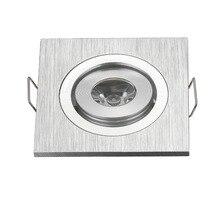 Foco Empotrar квадратный 3 светодиодный мини-квадратный без затемнения 3 Вт светодиодный встраиваемый потолочный светильник, маленький Светодиодный точечный светильник