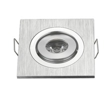 Foco Empotrar Square 3 Led Mini Square NO Dimmable 3W Led Recessed Ceiling Down Light Lamps Small Led Spot Light
