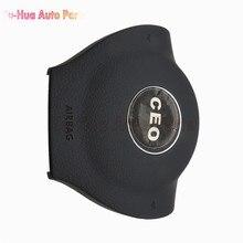 Автомобиль Подушки безопасности Крышка Для VW Golf 6 Крышке Подушки Безопасности рулевое Колесо Крышка с логотипом