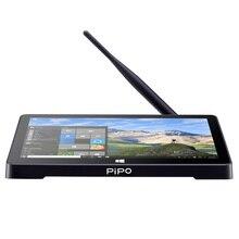 Yeni PIPO X8S X8 Pro Çift HD Grafik TV KUTUSU Windows 10 Intel Z3735F Dört Çekirdekli 2 GB/32 GB Tv Kutusu 7 Inç Ekran Mini Pc