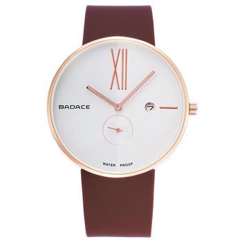 BADACE Men Fashion Casual Quartz Watch Male Golden Watches Silicone Waterproof Sport Wristwatches Clock Masculino Relojes nomos Наручные часы