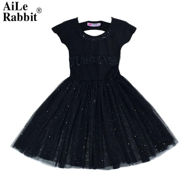 a568b9c9e أيل الأرنب 2018 الفتيات فستان مخطط عارية الذراعين تصميم ثوب أطفال الحجاب  الأزياء الأسود الوردي الكورية