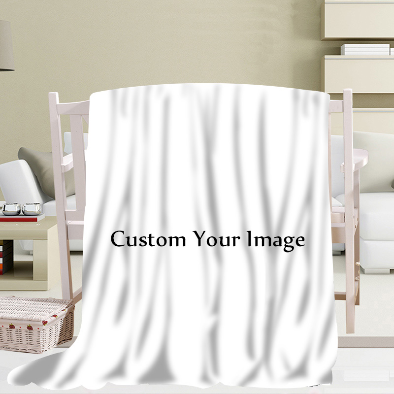 Custom Blanket Soft DIY Your Picture Decoration Bedroom Size 56x80Inch 50X60Inch 40X50Inch