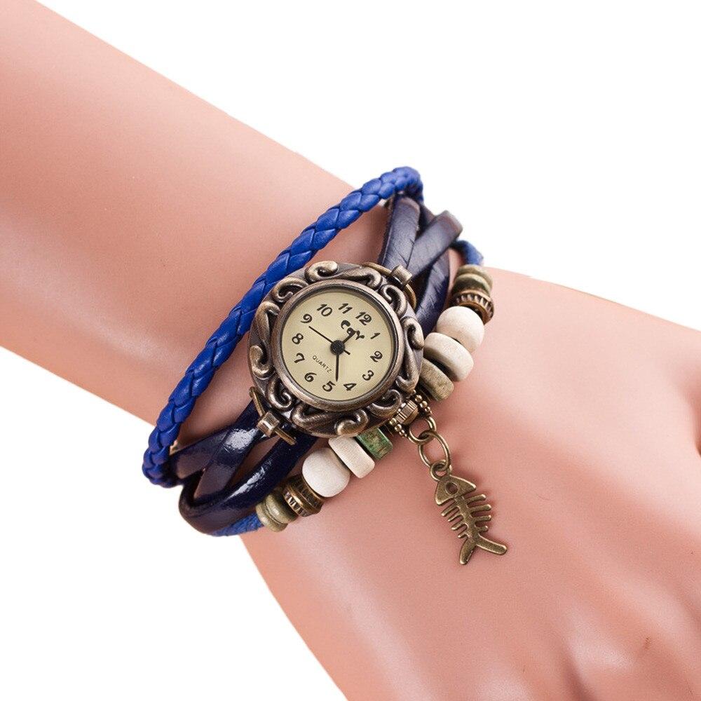 xiniu montre femme women 39 s bracelet watches weave around. Black Bedroom Furniture Sets. Home Design Ideas
