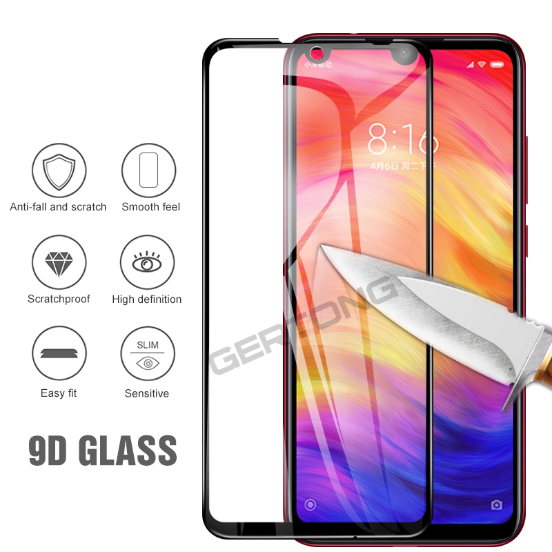 Image 3 - 9D Tempered Glass For Xiaomi Redmi Note 7 Pro Note 6 5 8 Pro Screen Protector For Redmi 7 K20 Pro 5 Plus Protective Glass Film-in Phone Screen Protectors from Cellphones & Telecommunications