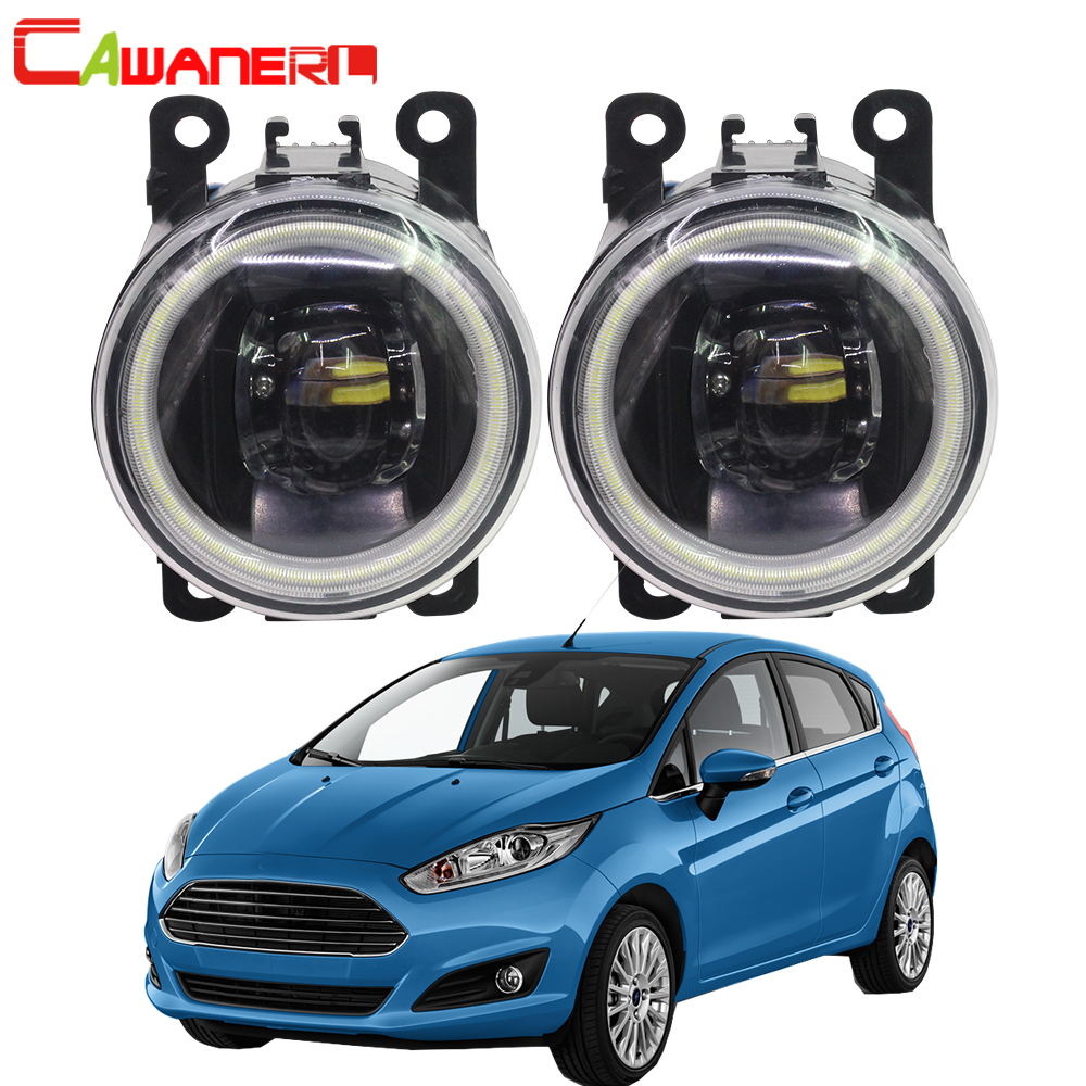 Cawanerl For 2001-2015 Ford Fiesta Car 4000LM LED Bulb H11 Fog Light Angel Eye Daytime Running Light DRL 12V High BrightCawanerl For 2001-2015 Ford Fiesta Car 4000LM LED Bulb H11 Fog Light Angel Eye Daytime Running Light DRL 12V High Bright